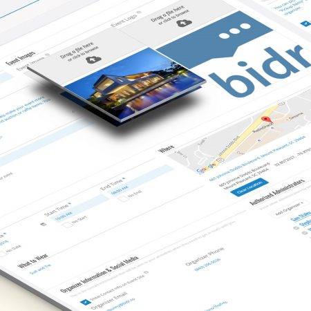 Bidr Text App for Fundraising Events: Silent Auction & Raffle
