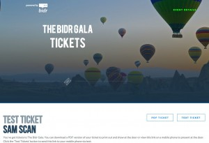 Bidr Ticket - The Bidr Gala.clipular